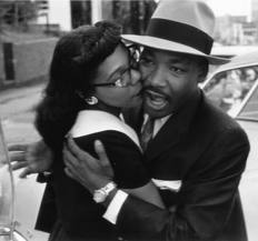 Dr. King and wife Coretta