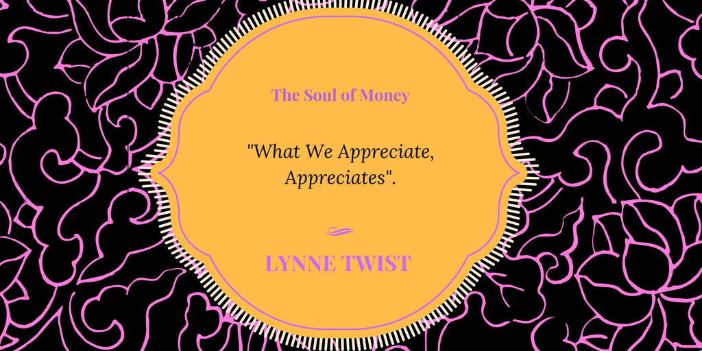 Appreciate Lynne Twist
