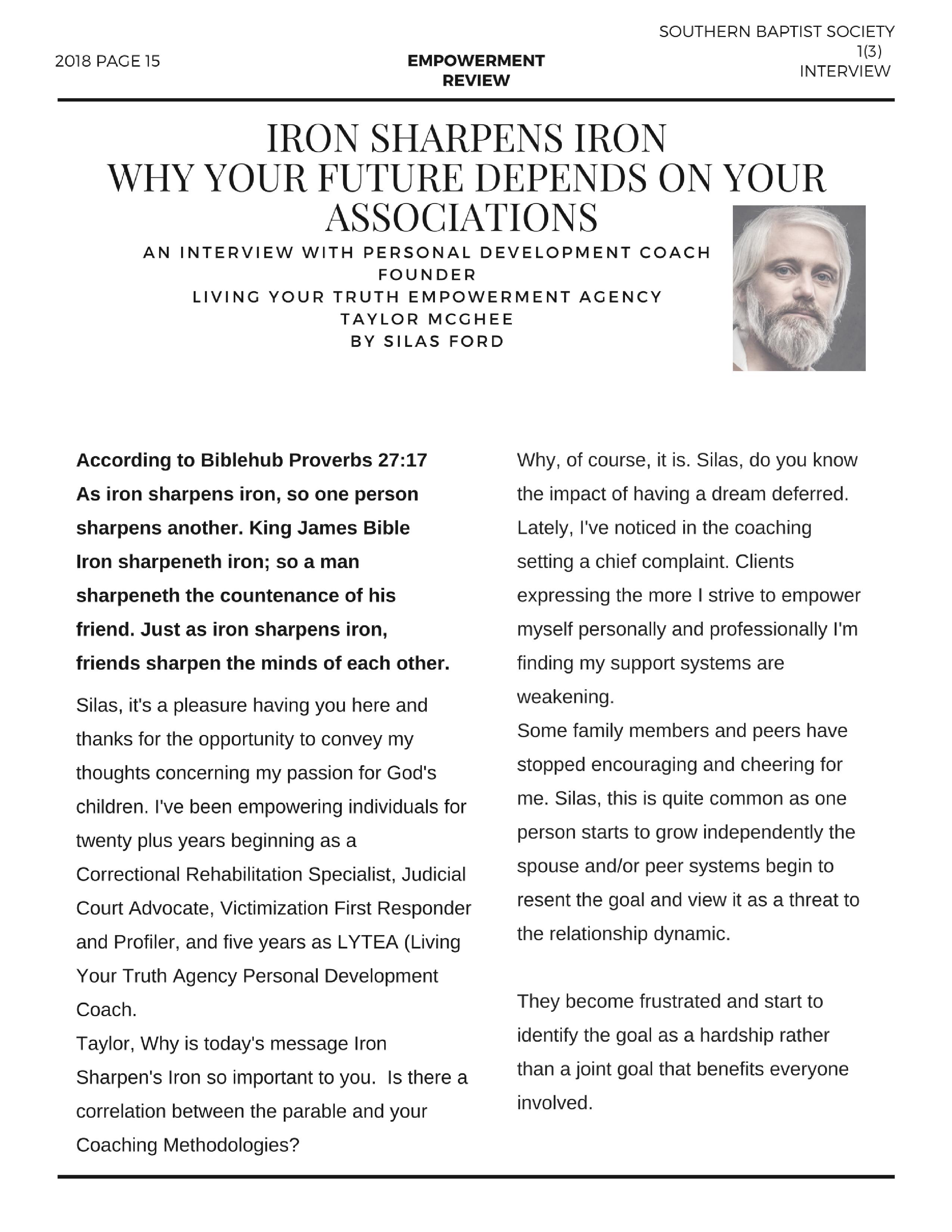 Magazine empowerment review pg 1